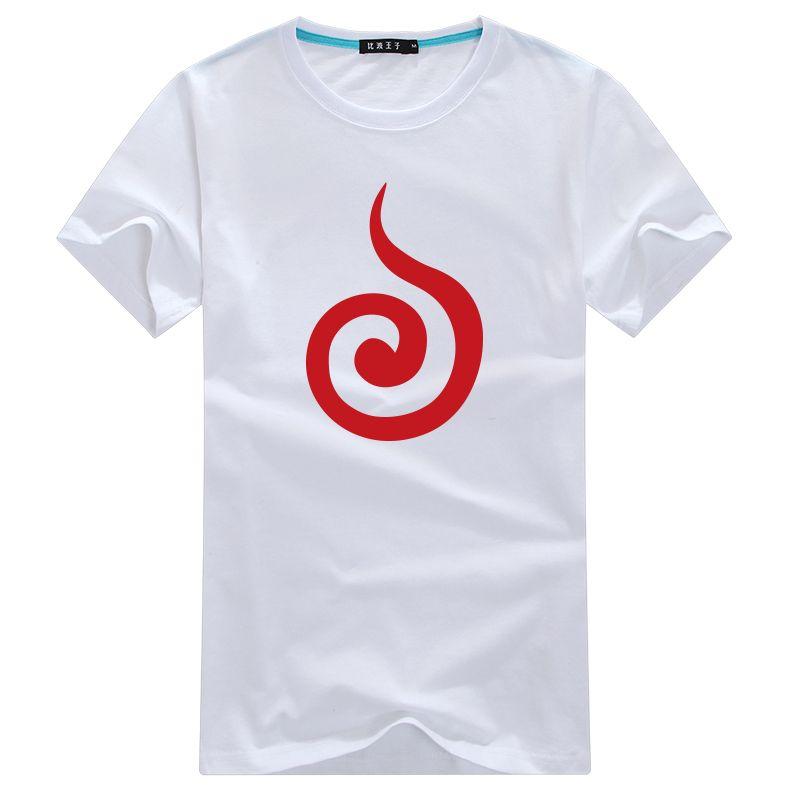Naruto Will Of Fire Symbol T Shirt