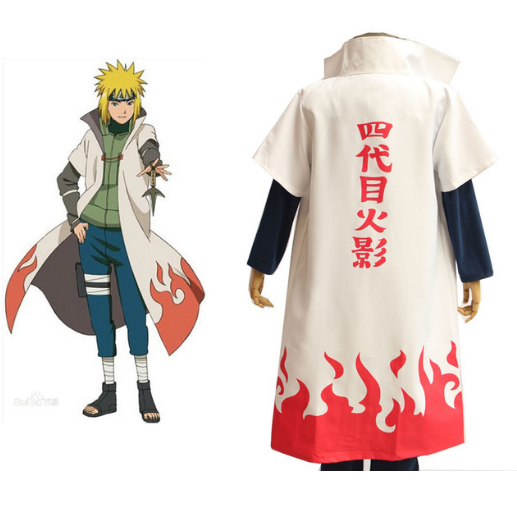 Fourth Hokage Cosplay Cloak
