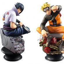 Sitting Naruto Action Figures 6 Pcs/set