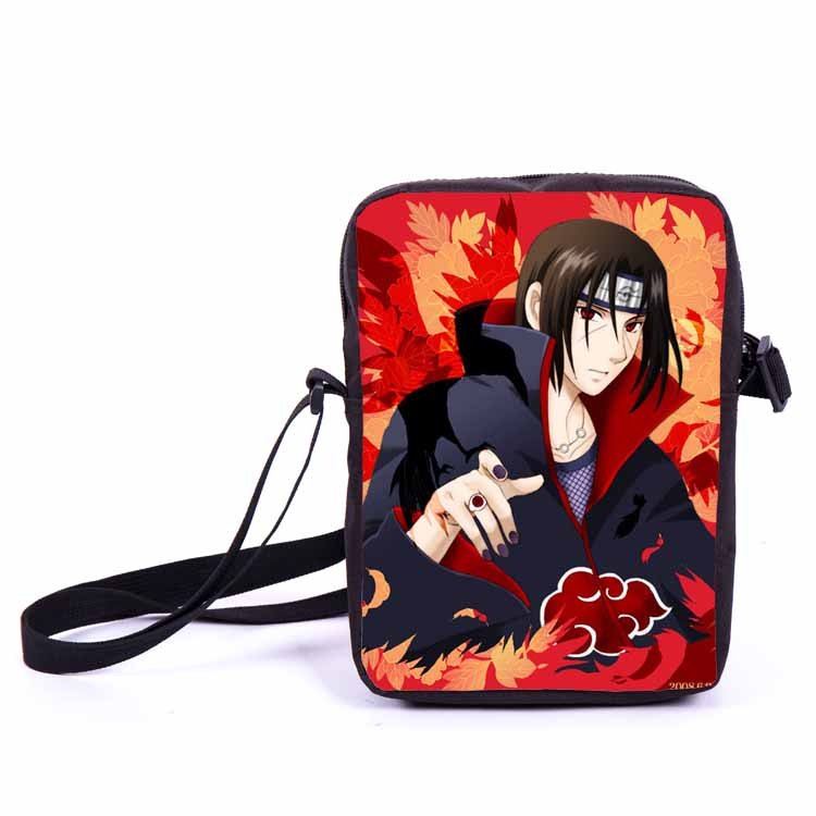 Naruto character children messenger bags free shipping
