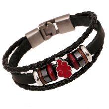 Naruto Akatsuki Leather Bracelet (2 colors)