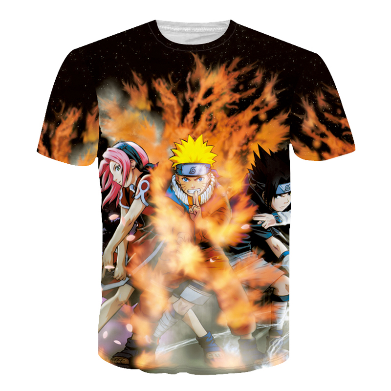 Naruto 3d t shirt for men for Comic t shirts online