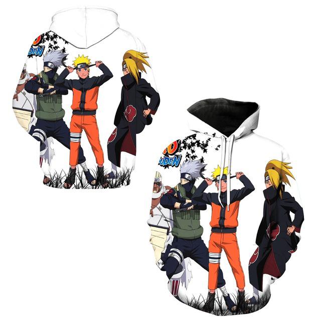 Kakashi Hatake Anime Hoodie (3 types)