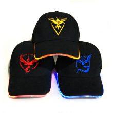 LED Pokemon Cap (3 types) Mystic, Instinct, Valor Teams