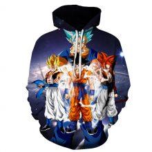 Dragon Ball Z 3D Hoodie (15 styles)