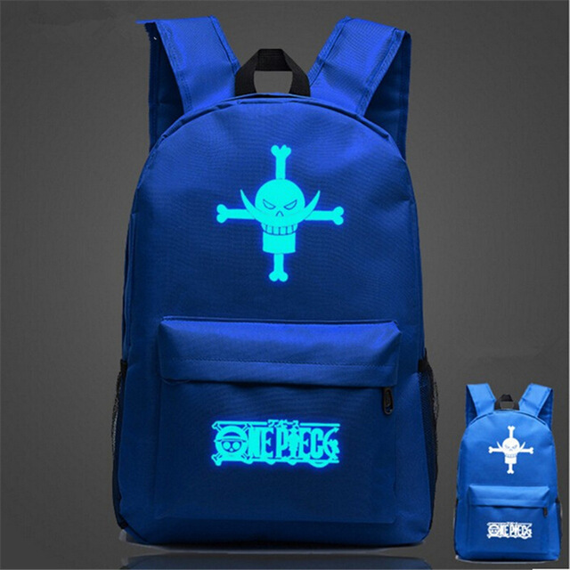 One Piece Glowing Backpack (5 colors)