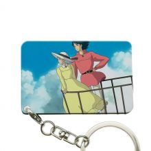 Howl`s Moving Castle Keyring (4 types)