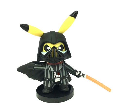 Pikachu Super Heroes Cosplay Figure (12 types)