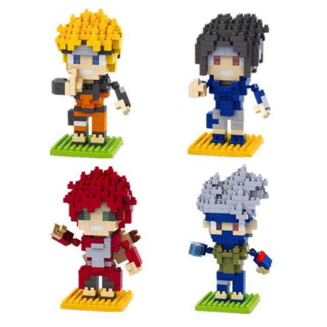 Naruto Figures Minecraft Edition