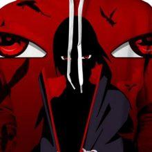 Naruto Itachi Uchiha 3D Hoodie