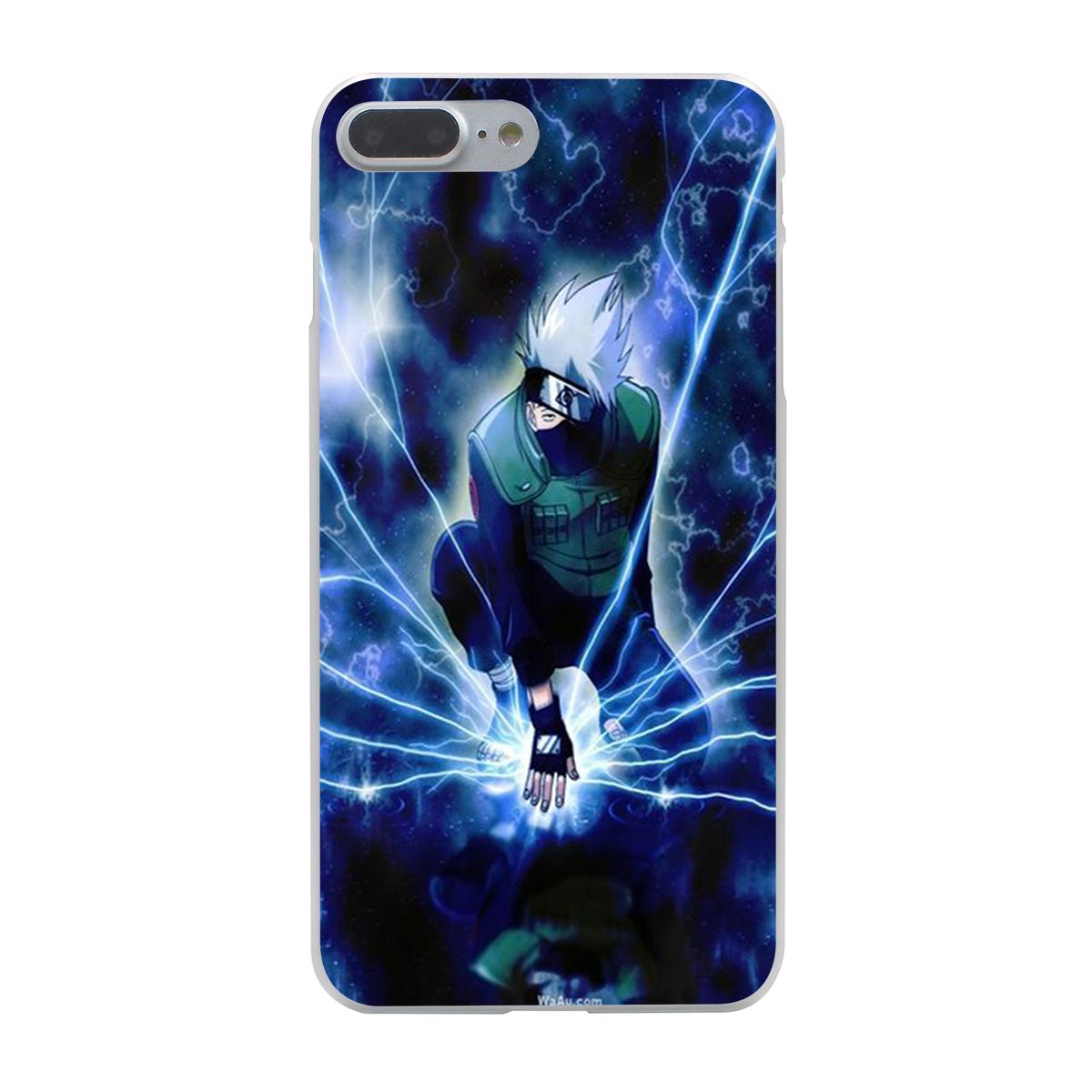 Hokage Naruto Kakashi Hard Case Transparent For Iphone 7 7