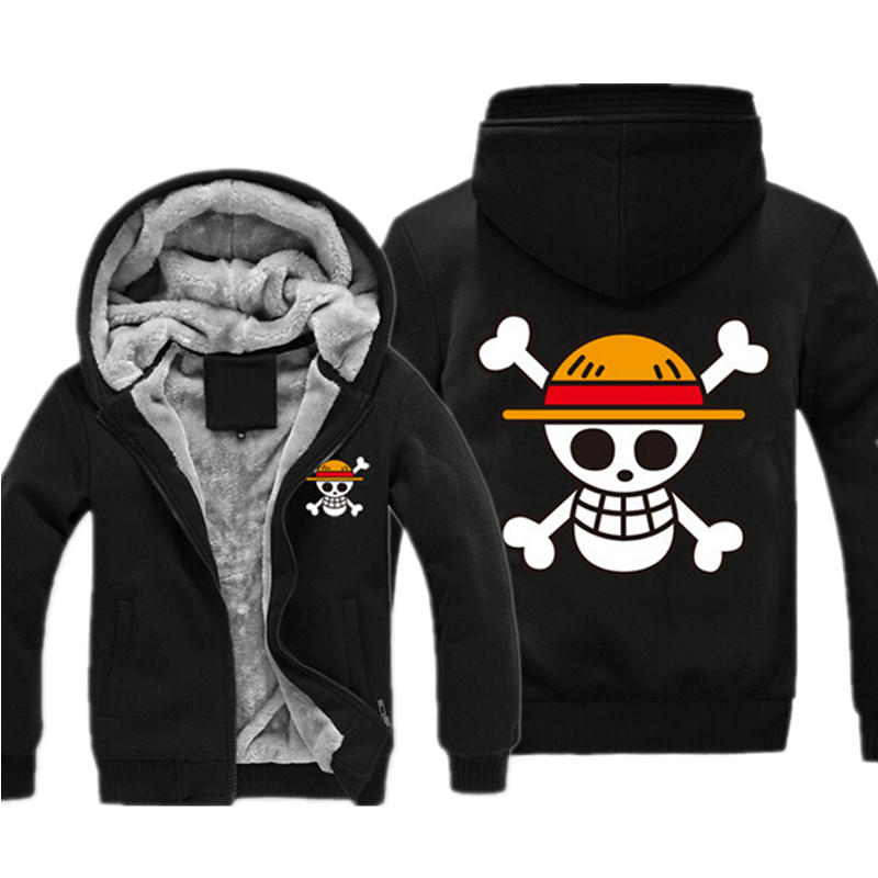 One Piece Anime Jacket Hoodie 21 Types