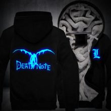 Death Note Shinigami Glowing Hoodie