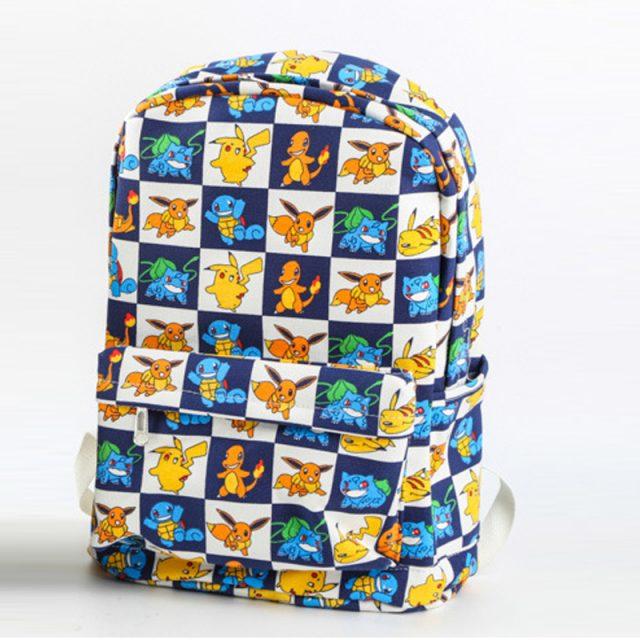5af6472344 ... Pokemon Canvas Backpack (9 types) ...