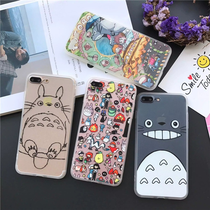 new products 7a7dc 4ba13 My Neighbor Totoro Case For iPhone
