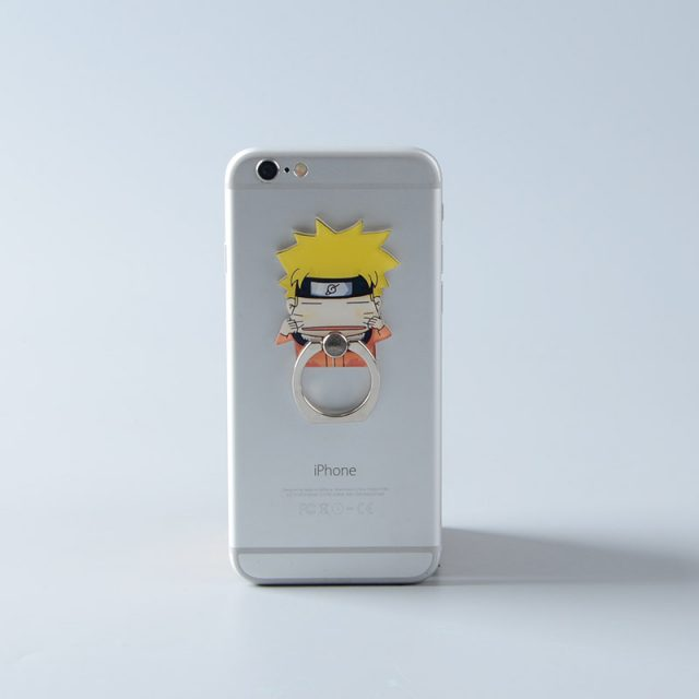 Phone Ring Holder with Anime Characters (12 Types)