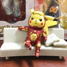 Pikachu Super Heroes Cosplay Figure (12 types)