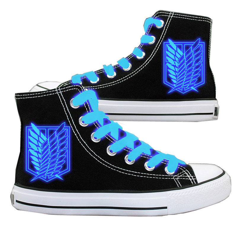 Attack On Titan Canvas Shoes (3 types) ... a74ed552a