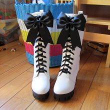 Black Butler Ciel Phantomhive Circus Cosplay Boots