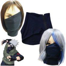 Naruto Hatake Kakashi Face Mask with Zipper
