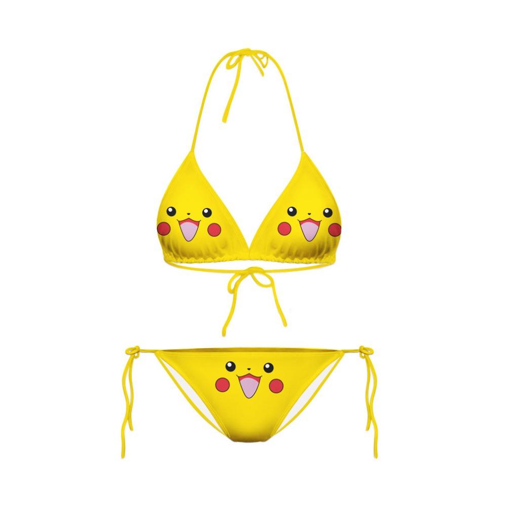 Pokemon Pikachu Swimwear Bikini