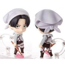 Cleaning Levi Action Figure