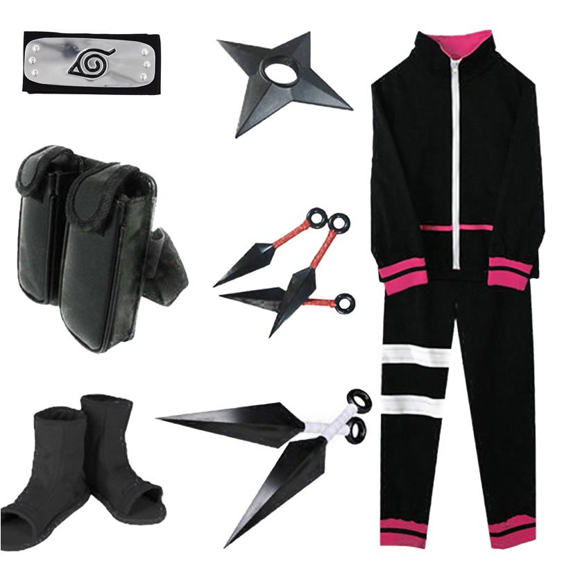Uzumaki Boruto Cosplay Costume Set
