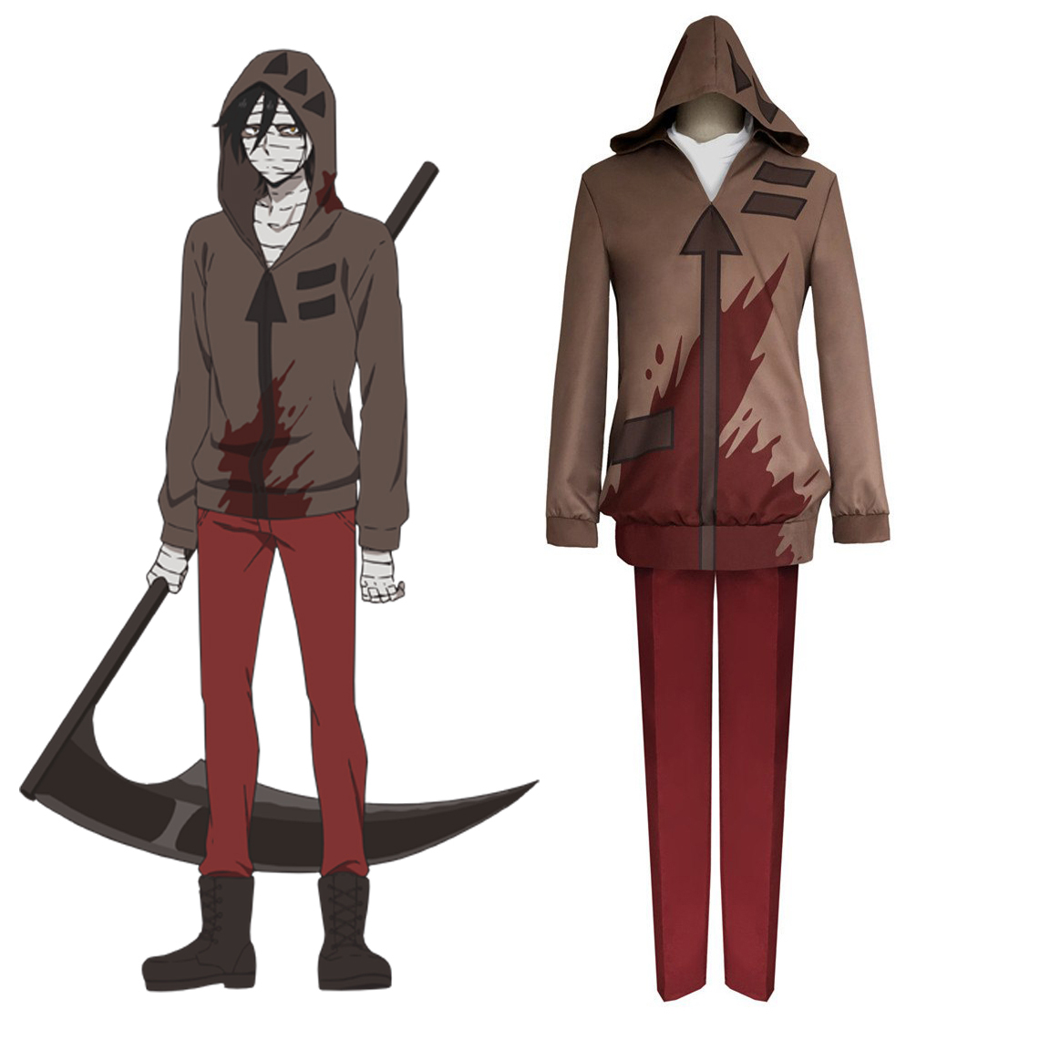 Tail Of The Dragon Photos >> Angels of Death Isaac Foster Cosplay Costume