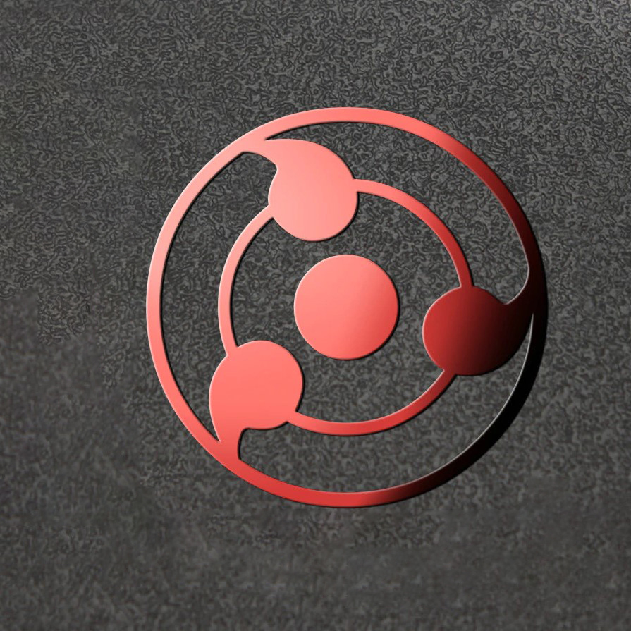 Naruto Sharingan 3d Metal Stickers