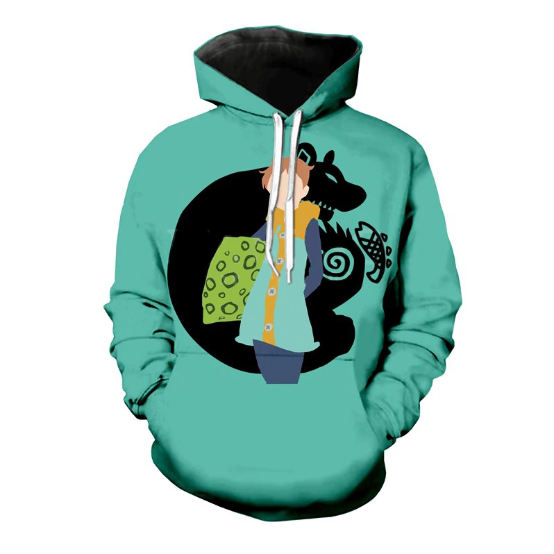 The Seven Deadly Sins Print Hoodie