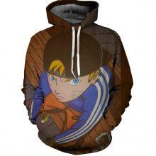 Naruto Sasuke 3d Print Hoodie (3 Colors)
