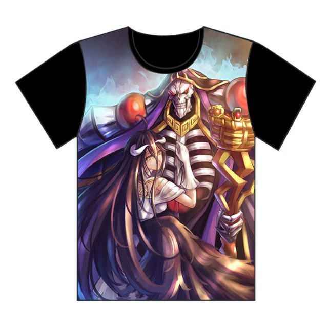 Overlord Ainz and Albedo T-Shirt