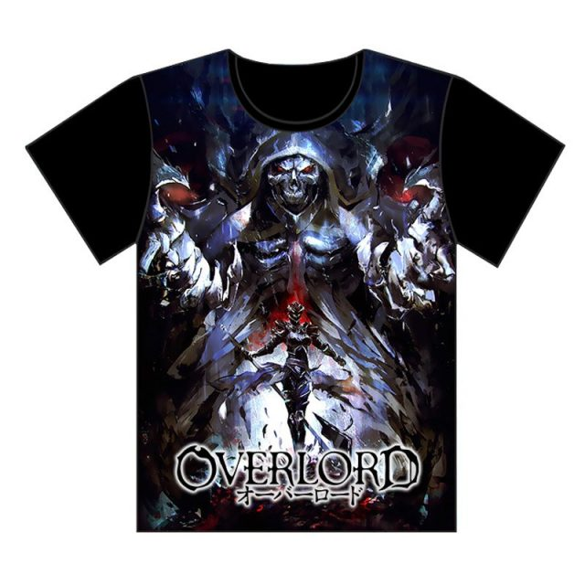 Overlord Cool Print T-Shirt