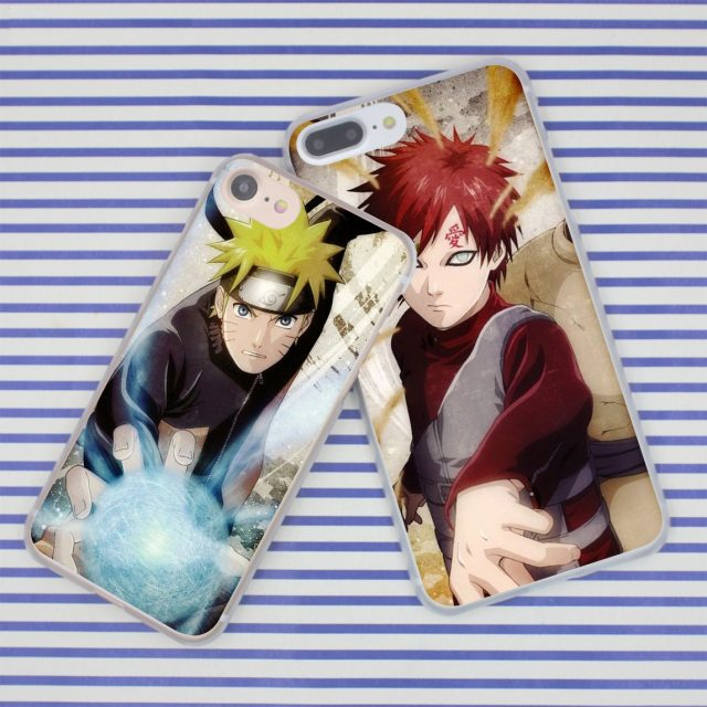 Naruto Print Hard Plastic Case for Apple iPhone (12 types)