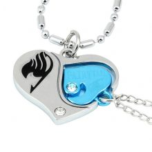 Fairy Tail Heart Pendant Necklace
