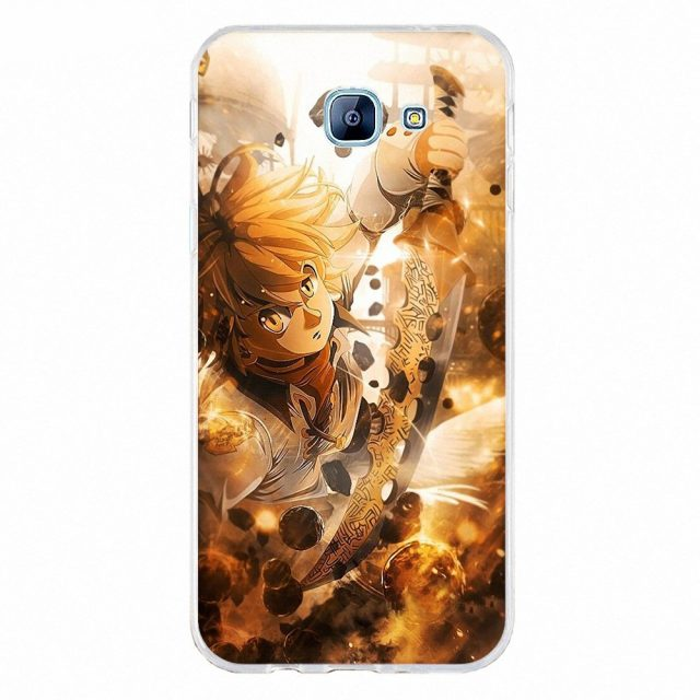 The Seven Deadly Sins Meliodas And Elizabeth Cases For Samsung (12 Types)