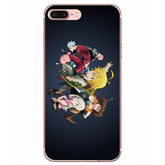 Seven Deadly Sins Xiaomi Phone Case (9 Types)