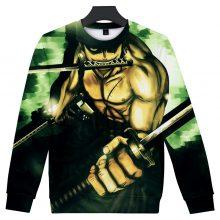 One Piece Roronoa Zoro 3D Print Sweatshirt