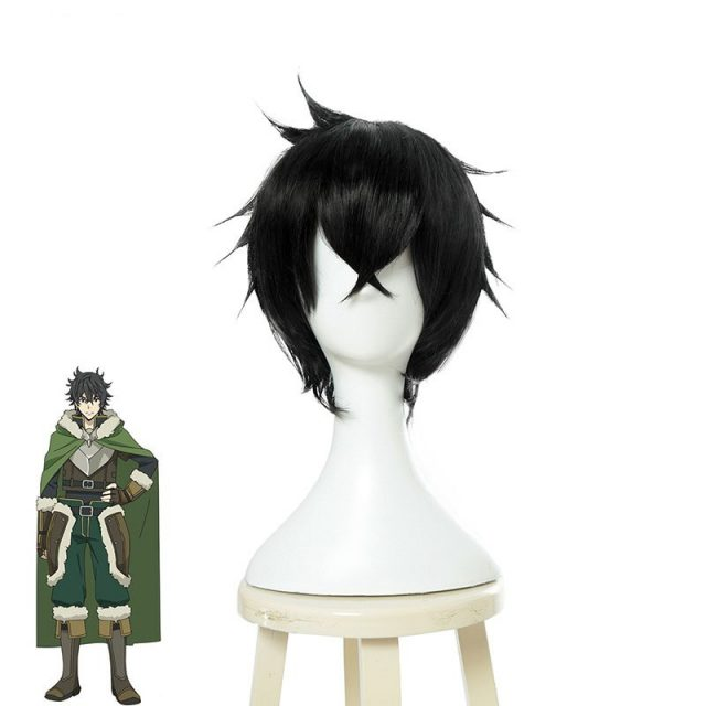 The Rising of the Shield Hero Naofumi Iwatani Cosplay Wig