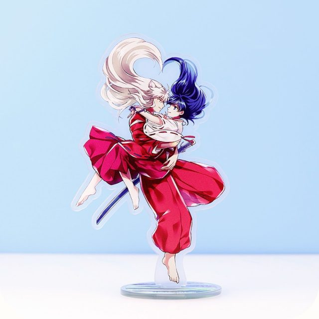 Inuyasha Kagome And Inuyasha Acrylic Stand Figure