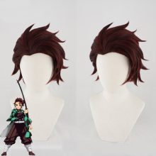 Demon Slayer Kamado Tanjirou Cosplay Wig