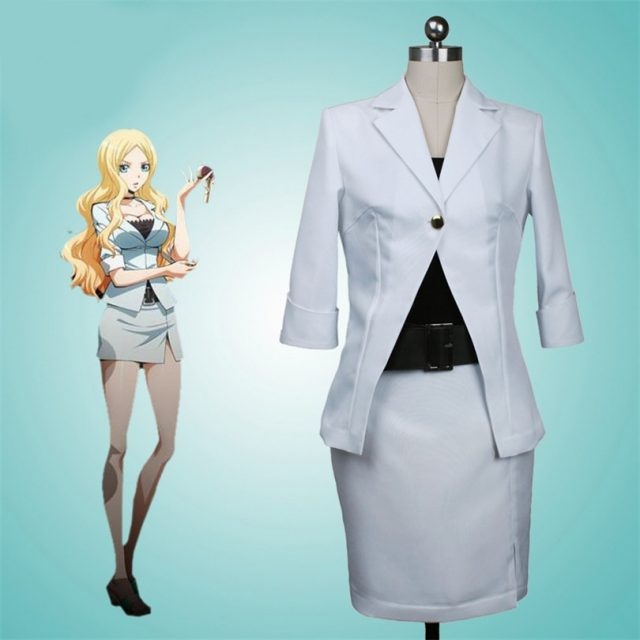 Assassination Classroom Irina Jelavich Cosplay Costume