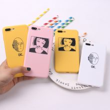 One Punch Man TPU Frosted Matte Case for iPhone
