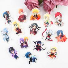 Naruto Acrilyc Icon Badges (15 Types)