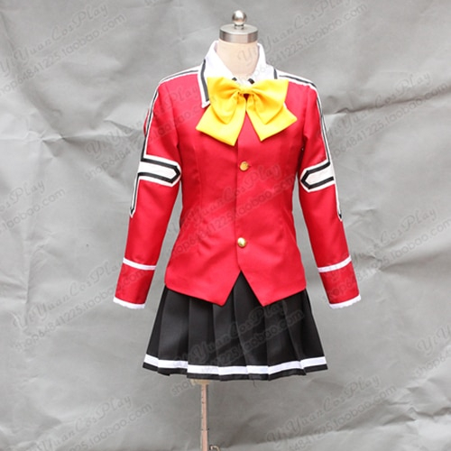 Fairy Tail Wendy Marvell Uniform Cosplay Costume